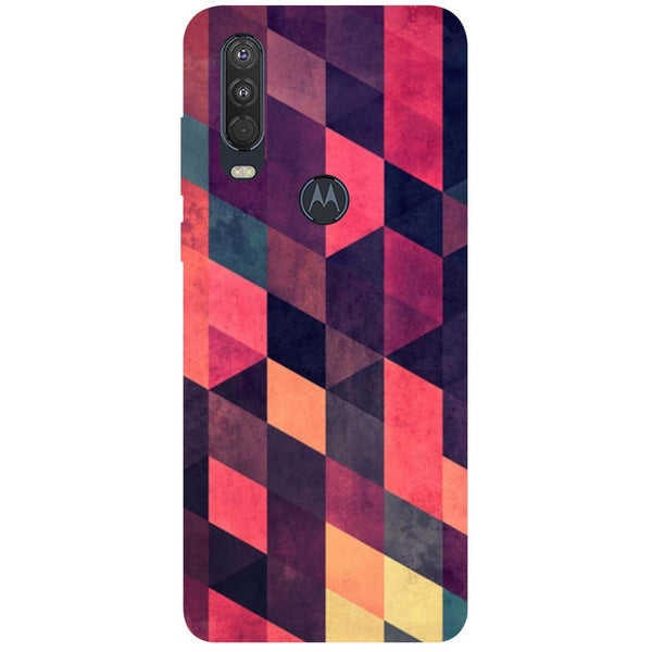 Pink Shades Motorola One Action Back Cover