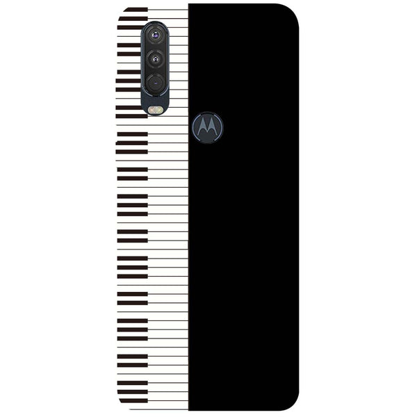 Piano Motorola One Action Back Cover