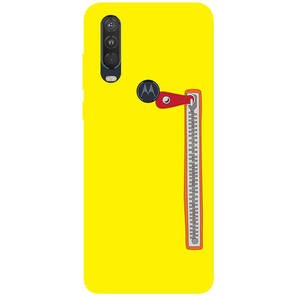 Zip Motorola One Action Back Cover