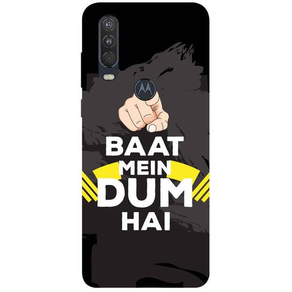 Dum Motorola One Action Back Cover