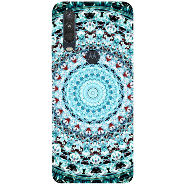 Mandala Motorola One Action Back Cover