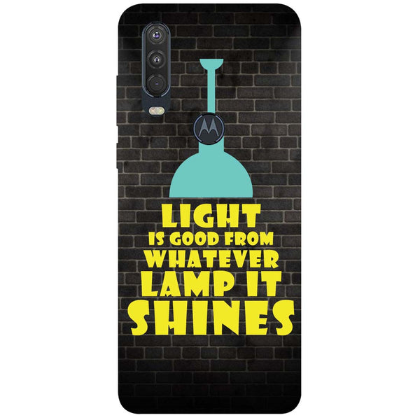 Shine Motorola One Action Back Cover