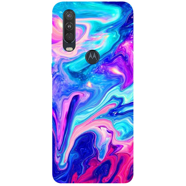 Paint Motorola One Action Back Cover