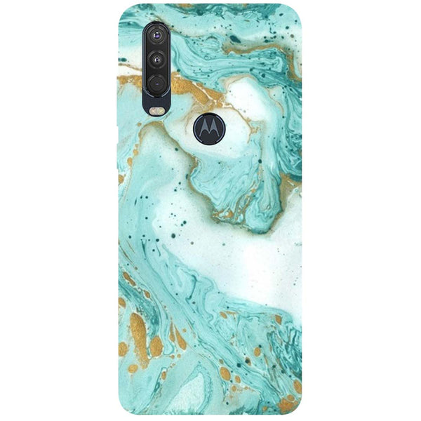 Marble Motorola One Action Back Cover