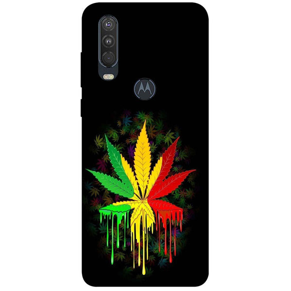 Rasta Motorola One Action Back Cover
