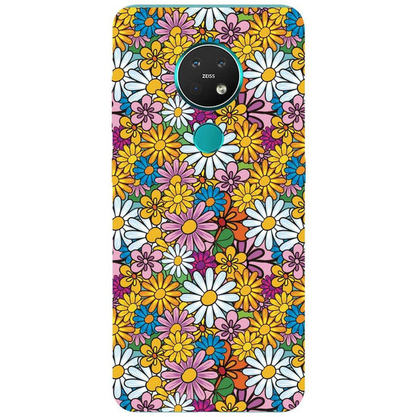 Colourful Flowers Nokia 7.2 Back Cover