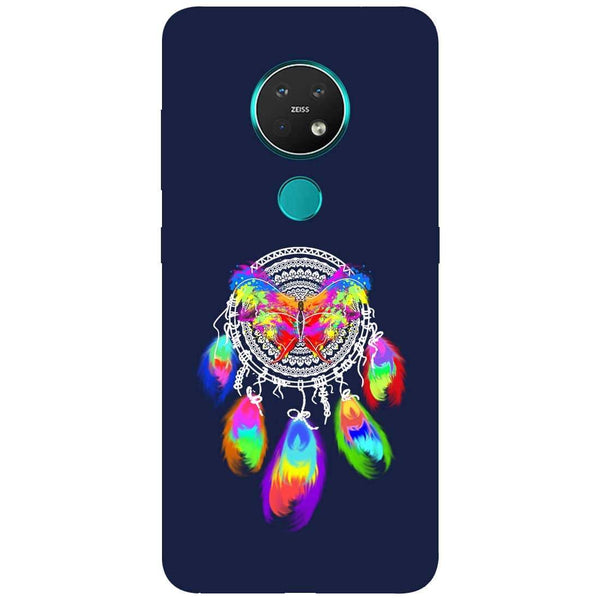 Butterfly Dreamcatcher Nokia 7.2 Back Cover