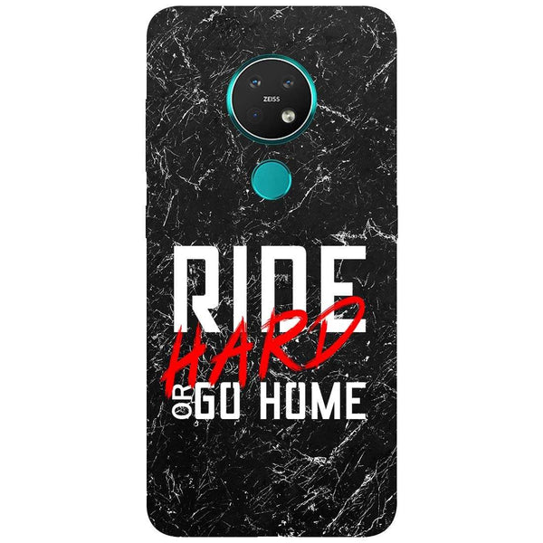 Ride Hard Nokia 7.2 Back Cover