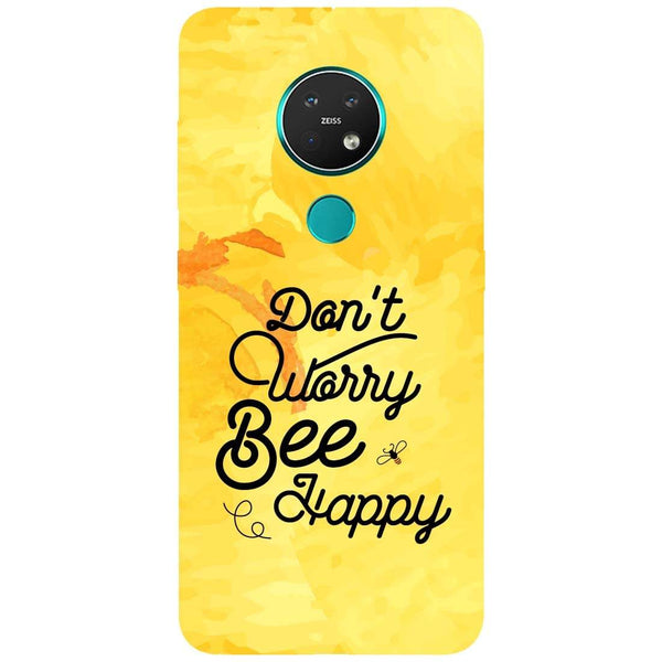 Bee Happy Nokia 7.2 Back Cover