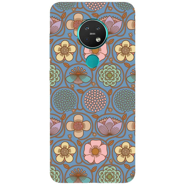 Flowers Nokia 7.2 Back Cover