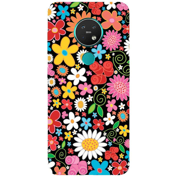 Bloom Nokia 7.2 Back Cover