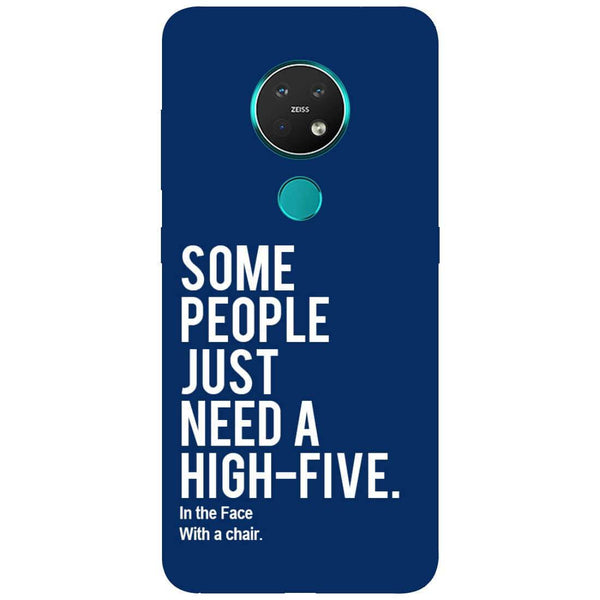High Five Nokia 7.2 Back Cover
