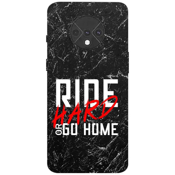 Ride Hard OnePlus 7T Back Cover
