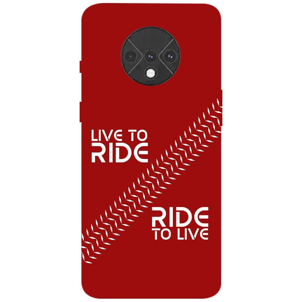 Live Ride OnePlus 7T Back Cover