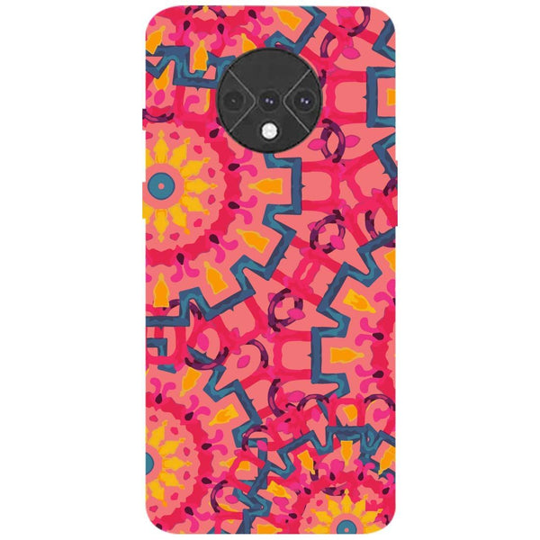 Mandalas OnePlus 7T Back Cover
