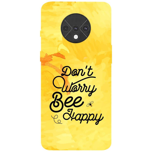 Bee Happy OnePlus 7T Back Cover