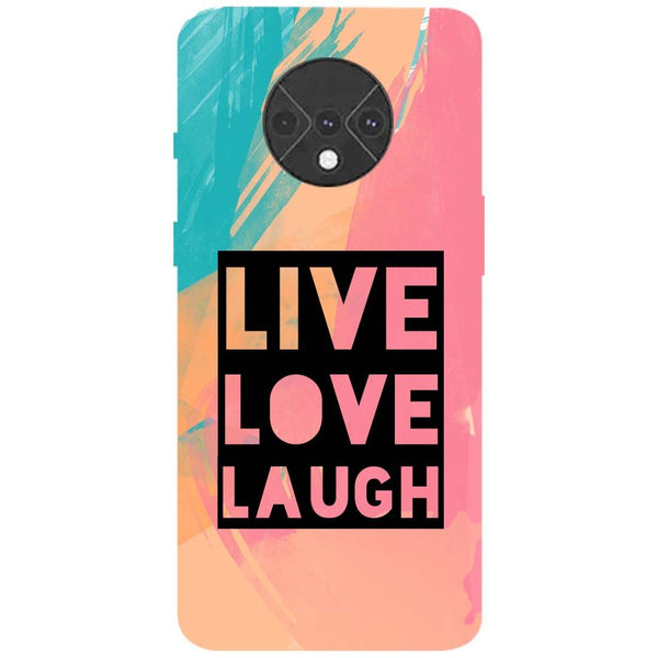 Live Love OnePlus 7T Back Cover