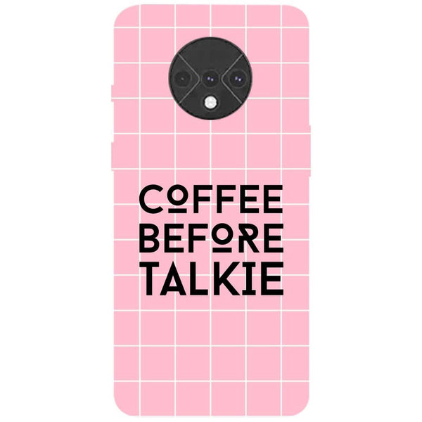Coffee Talkie OnePlus 7T Back Cover