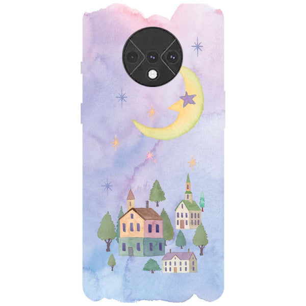 Starry Night OnePlus 7T Back Cover