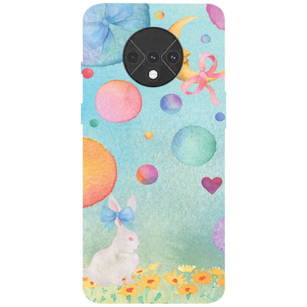 Moon Rabbit OnePlus 7T Back Cover