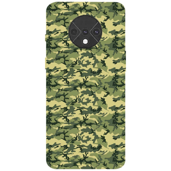 Mini Camouflage OnePlus 7T Back Cover