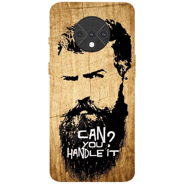 Handle Beard OnePlus 7T Back Cover