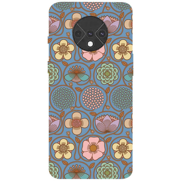 Flowers OnePlus 7T Back Cover