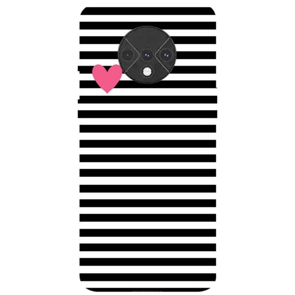 Stripes OnePlus 7T Back Cover
