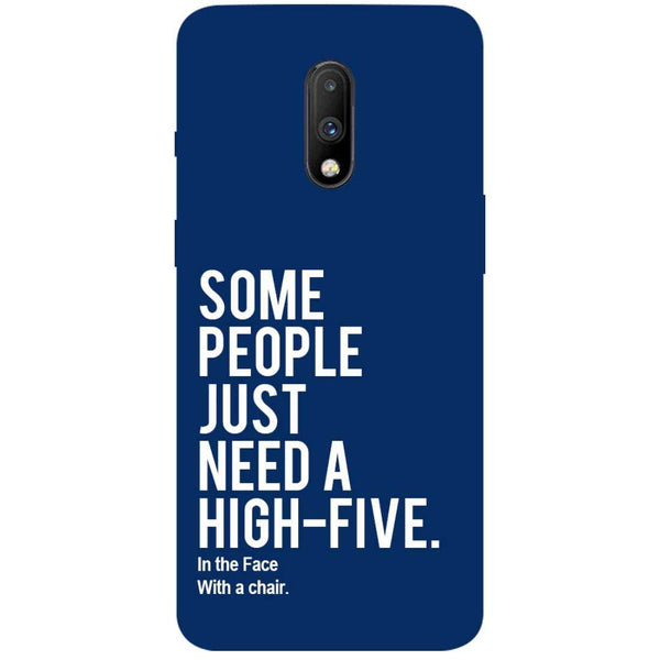 High Five OnePlus 7 Back Cover
