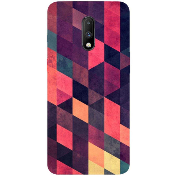 Pink Shades OnePlus 7 Back Cover
