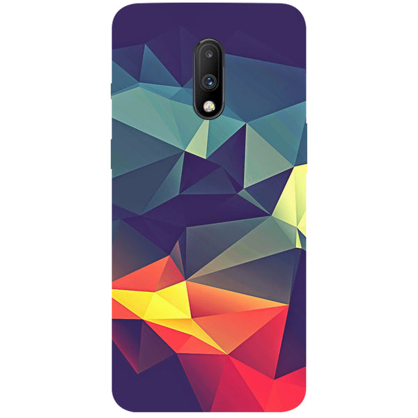 Geometric OnePlus 7 Back Cover