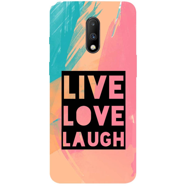 Live Love OnePlus 7 Back Cover