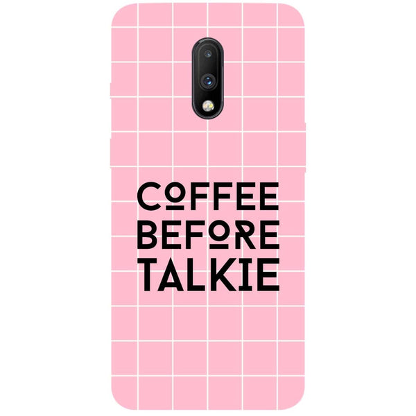 Coffee Talkie OnePlus 7 Back Cover