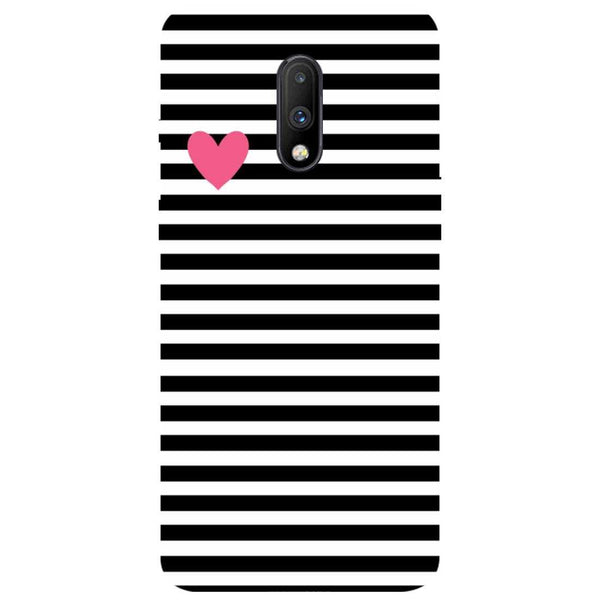 Stripes OnePlus 7 Back Cover