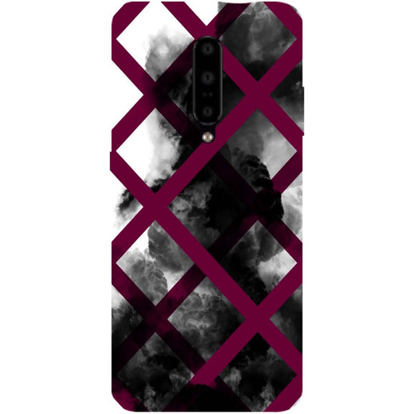 Black Mist OnePlus 7 Pro Back Cover-Hamee India