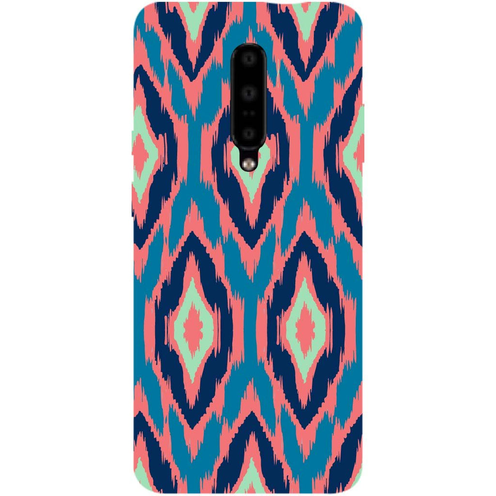 Ikat OnePlus 7 Pro Back Cover-Hamee India