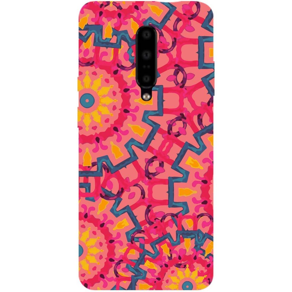 Mandalas OnePlus 7 Pro Back Cover-Hamee India