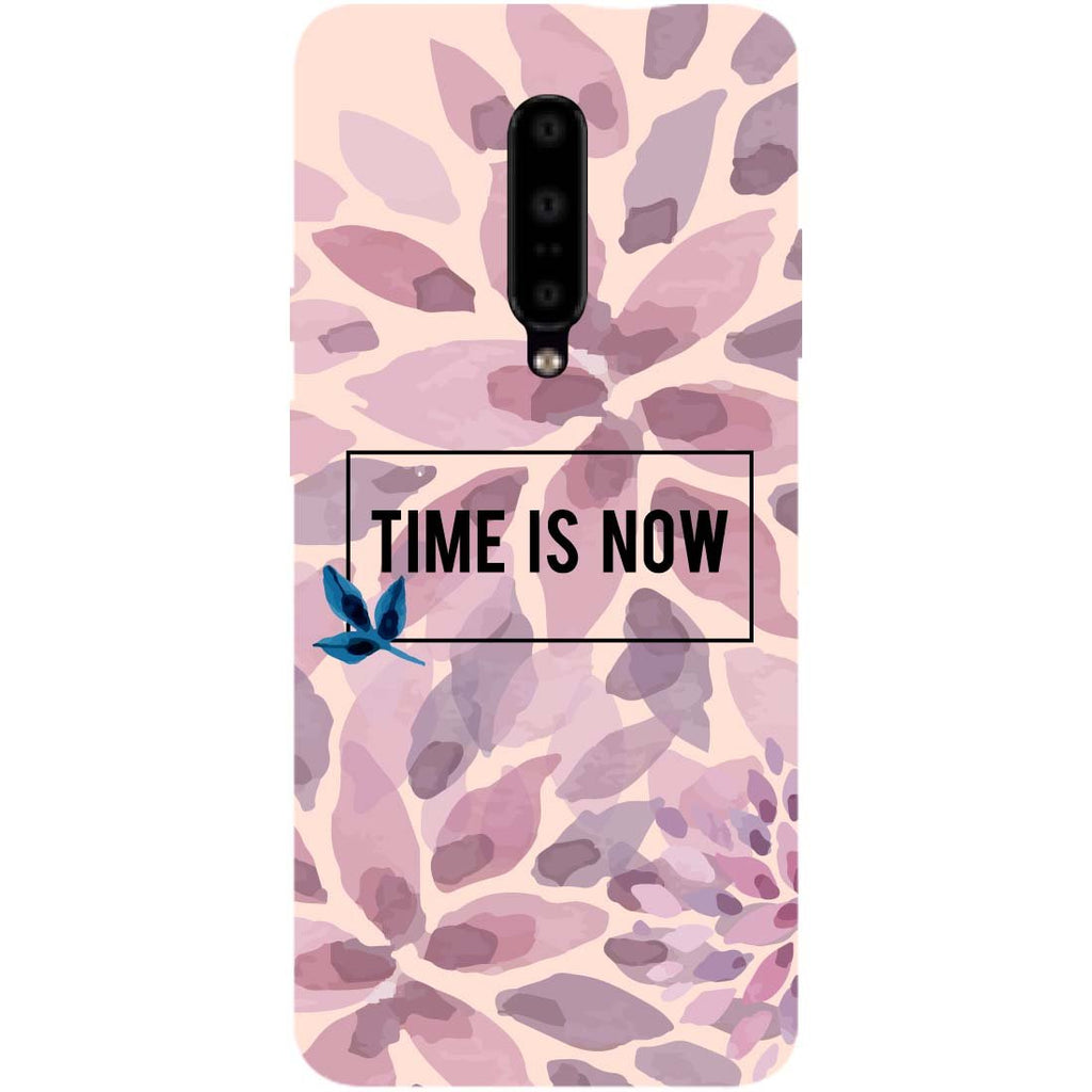 Time Is Now OnePlus 7 Pro Back Cover-Hamee India