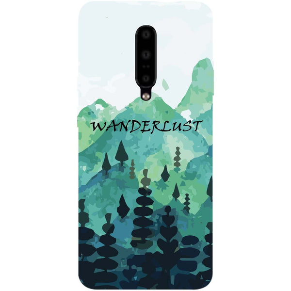 Wanderlust OnePlus 7 Pro Back Cover-Hamee India
