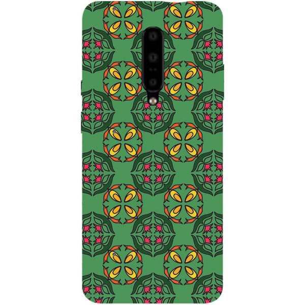 Ethnic Motif OnePlus 7 Pro Back Cover-Hamee India