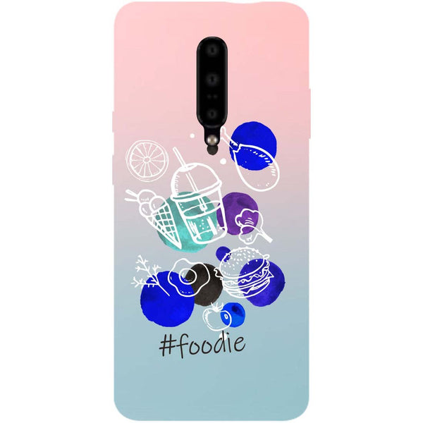 Foodie OnePlus 7 Pro Back Cover-Hamee India