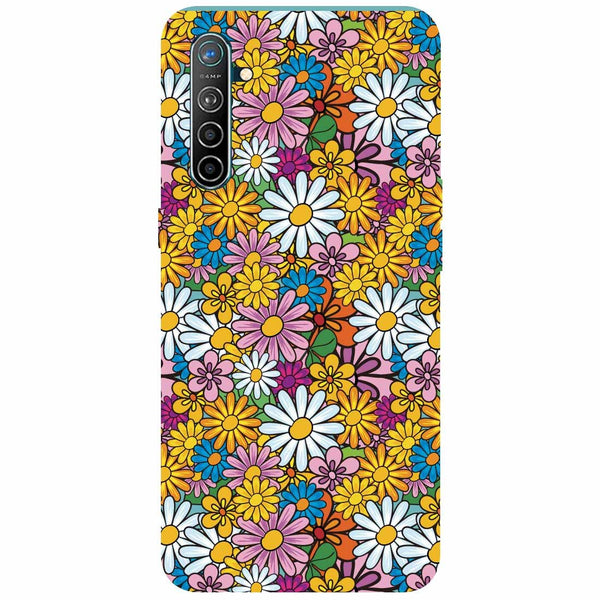 Colourful Flowers Oppo K5 Back Cover