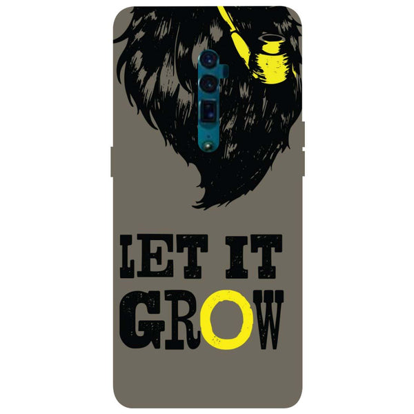 Grow Oppo Reno 10X Zoom Back Cover-Hamee India