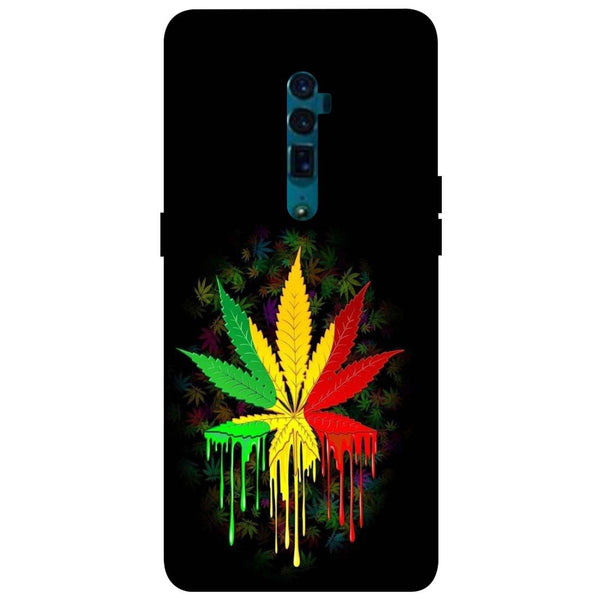 Rasta Oppo Reno 10X Zoom Back Cover-Hamee India
