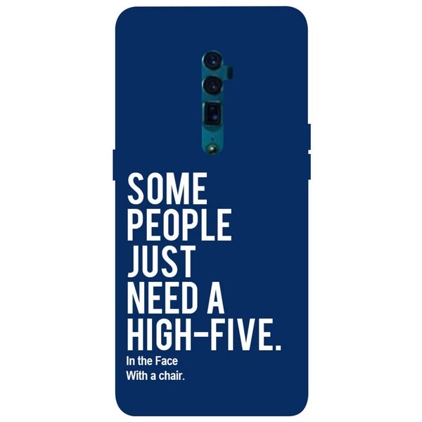High Five Oppo Reno 10X Zoom Back Cover-Hamee India