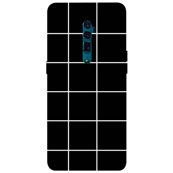 Checks Oppo Reno 10X Zoom Back Cover-Hamee India