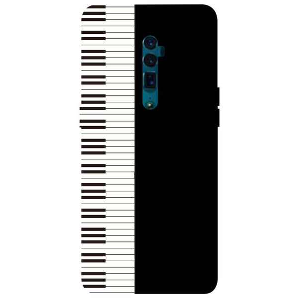 Piano Oppo Reno 10X Zoom Back Cover-Hamee India