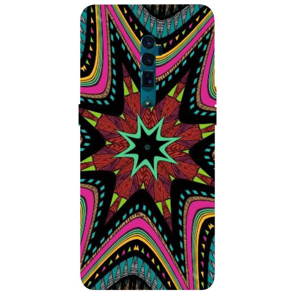 Star Mandala Oppo Reno 10X Zoom Back Cover-Hamee India