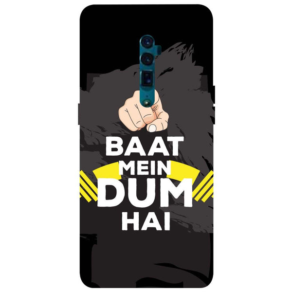 Dum Oppo Reno 10X Zoom Back Cover-Hamee India
