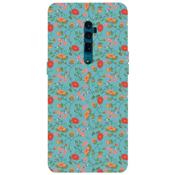 Floral Oppo Reno 10X Zoom Back Cover-Hamee India